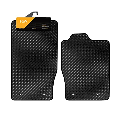 FSW F Type 2013-On Tailored 3MM Waterproof Rubber Heavy Duty Car Floor Mats from FSW