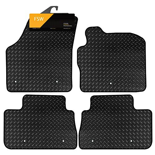 FSW Freelander 2013-On Tailored 3MM Waterproof Rubber Heavy Duty Car Floor Mats from FSW
