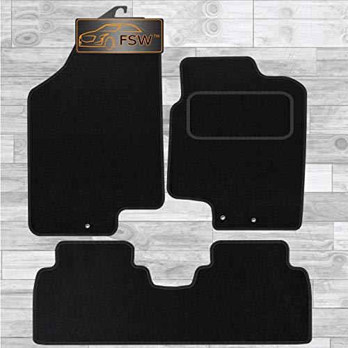 FSW Ix20 2010-ON Tailored Carpet Car Floor Mats Black from FSW
