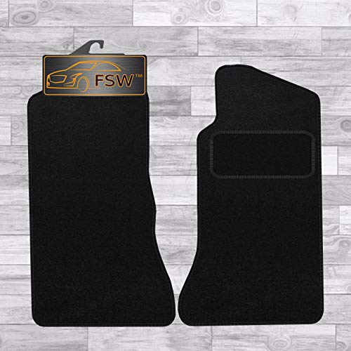 FSW Mgb 4 Synchro 1968-1980 Tailored Carpet Car Floor Mats Black from FSW