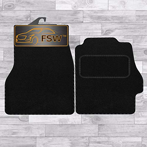 FSW Mr2 Mk3 00-On Tailored Carpet Car Floor Mats Black from FSW