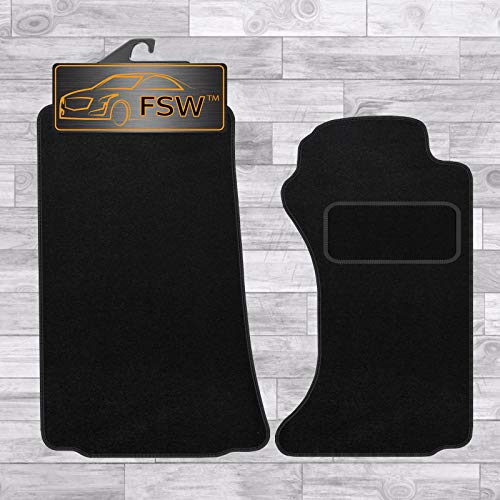 FSW Mx5 2006-2014 Tailored Carpet Car Floor Mats Black from FSW