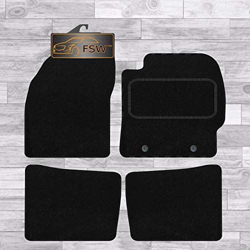 FSW Prius 2009-2012 Tailored Carpet Car Floor Mats Black from FSW