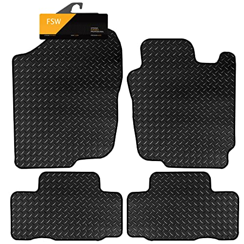 FSW Rav 4 2006-2013 Tailored 3MM Waterproof Rubber Heavy Duty Floor Mats from FSW