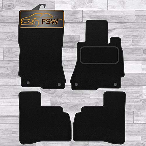 FSW S Class Swb 2006-2013 Tailored Carpet Car Floor Mats Black from FSW