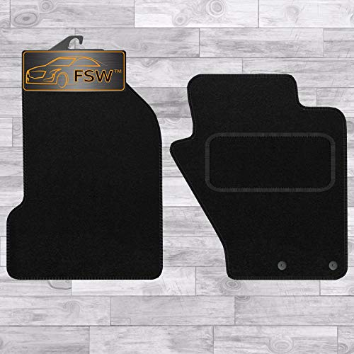 FSW S2000 1999-On Tailored Carpet Car Floor Mats Black from FSW
