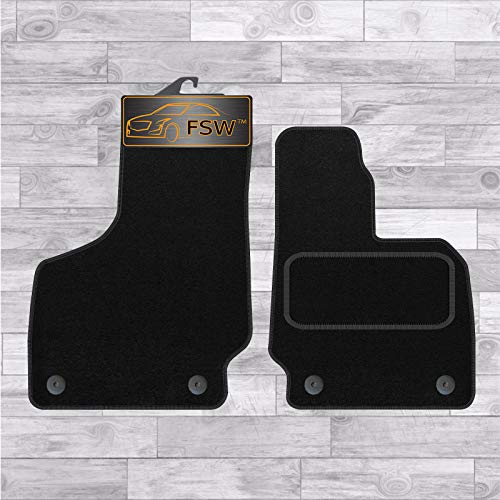FSW TT 06-14 2 Piece Mat Tailored Carpet Car Floor Mats 2 Pc 4 Clips from FSW
