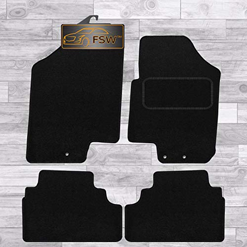 FSW Venga 2010 Tailored Carpet Car Floor Mats Black from FSW