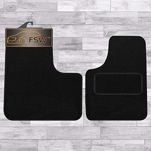 FSW Vivaro Van 2001-2014 Tailored Carpet Floor Mat Black from FSW