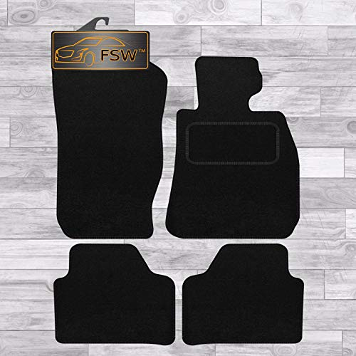 FSW X1 2010-2015 E84 Tailored Carpet Car Floor Mats Black from FSW