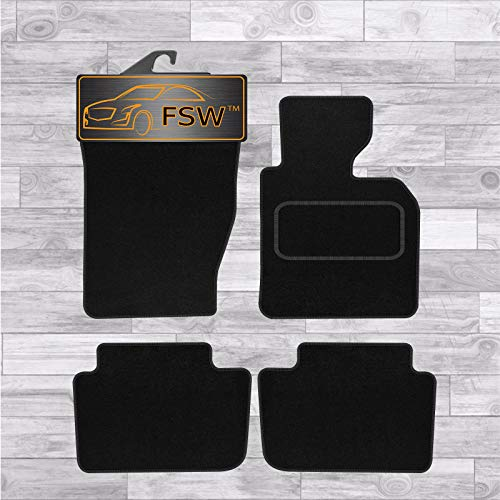FSW X3 2004-2011 Tailored Carpet Car Floor Mats Black 4 Pc from FSW