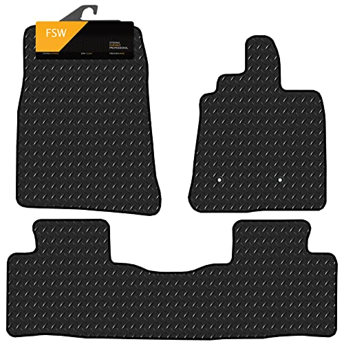 FSW Shogun 07 On Swb Tailored 3MM Waterproof Rubber Heavy Duty Car Floor Mats from FSW