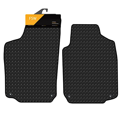 FSW Tigra 04-On 2 Seater Tailored 3MM Waterproof Rubber Heavy Duty Car Floor Mats from FSW