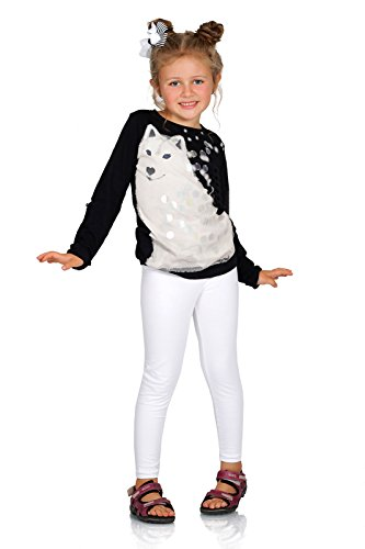 FUTURO FASHION Full Length Cotton Girls Leggings Plain Pants Kids White Leggings Age 4 from FUTURO FASHION