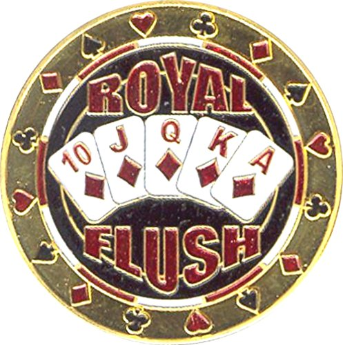 Poker Card Guards | Royal Flush Card Guard (Single) from Fa. Wessel