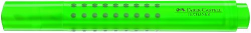 Faber-Castell GRIP Textliner Marker - Green (Pack of 10) from Faber-Castell