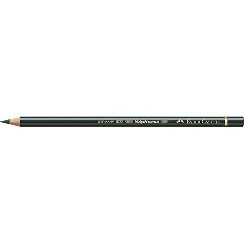 Faber-Castell Polychromos Artists' Single Pencil - Colour 267 Pine Green from Faber-Castell