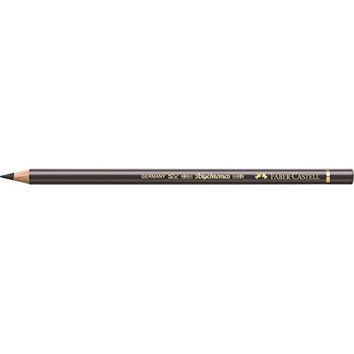 Faber-Castell Polychromos Artists' Single Pencil - Colour 275 Warm Grey VI from Faber-Castell