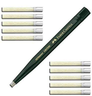 Faber-Castell Twist Pen with Glass Eraser (1 Pen + 20 Refills) from Faber-Castell