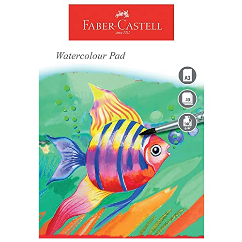 Faber-Castell WD793215 A3 140 GSM Watercolour Pad from Faber-Castell