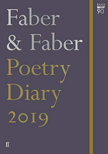 Faber & Faber Poetry Diary 2019 (Diaries 2019) from Faber & Faber