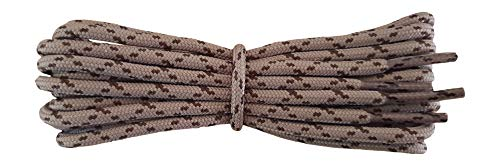 Shoelaces for Walking, Hiking, Trekking Shoe Boot - replacement laces in taupe with brown flecks 90 cm from Fabmania