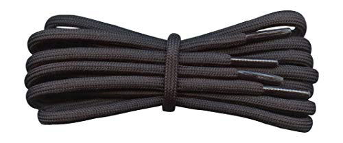 Thick Round Cord Boot Laces - 5mm - Ideal for Hiking, Work, lengths 75cm to 240 cm from Fabmania
