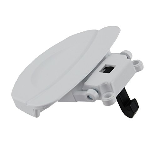 Washing Machine Door Handle Assembly Fits Baumatic/Fagor/Homark/Sarena, White from Fagor