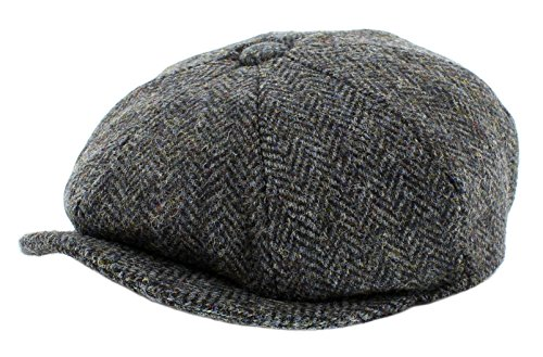 Failsworth Harris Tweed 'Carloway' Baker Boy (58cm, Pattern 2012) from Failsworth