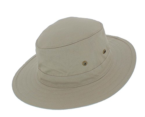6b02c05f651 Failsworth Summer Cotton Lightweight Traveller Safari Fedora (Medium 57cm