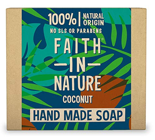 Faith In Nature Coconut Soap Wrapped 100 g from Faith In Nature