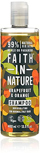 Faith In Nature Grapefruit & Orange Shampoo For Normal To Oily Hair 400ml from Faith In Nature