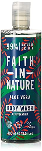 Faith in Nature Aloe Vera Foam Bath and Shower Gel 400ml from Faith In Nature