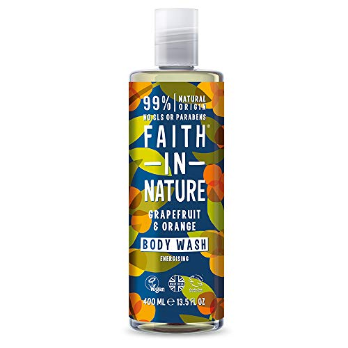 Faith in Nature, Grapefruit and Orange Body Wash, 400ml from Faith In Nature