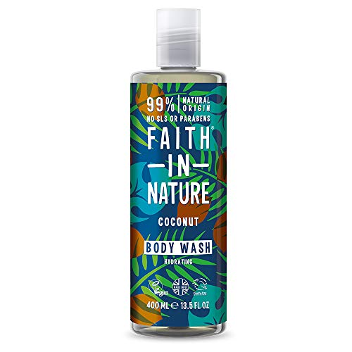 Faith In Nature, Coconut Body Wash, 400ml from Faith In Nature