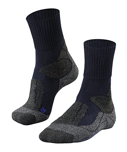 FALKE Men's TK1 Cool M SO Hiking Socks, Blue, UK 9.5-10.5 (EU 44-45 Ι US 10.5-11.5) from FALKE