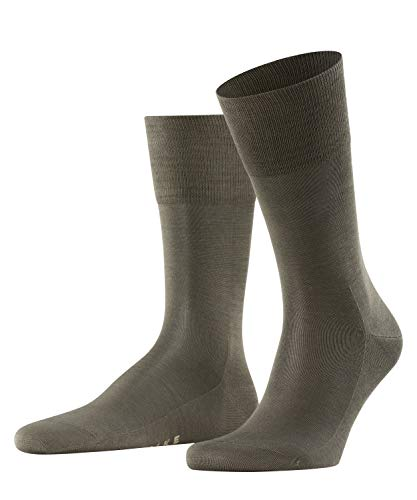FALKE Men's Tiago M SO Socks, Green (Military 7826), UK 10-11 (EU 45-46 Ι US 11-12) from FALKE