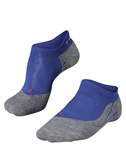 FALKE Men's RU4 Invisible M IN Running Socks, Blue (Athletic Blue 6451, UK 8-9 (EU 42-43 Ι US 9-10) from FALKE
