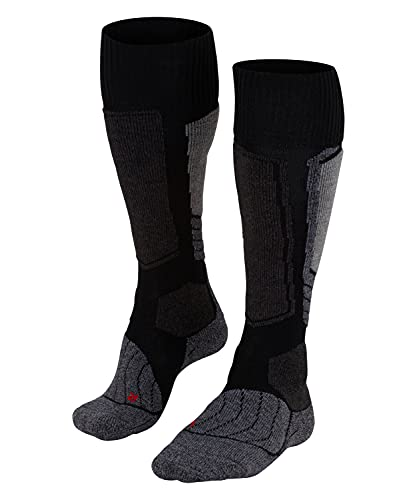 FALKE Women's SK1 W KH Skiing Socks, Black (Black-Mix 3010), UK 7-8 (EU 41-42 Ι US 9.5-10.5) from FALKE