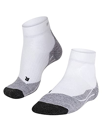 FALKE Women Tennis TE2 Short Socks - Cotton Blend, White (White-Mix 2020), UK 5.5-6.5 (Manufacturer size: 39-40), 1 Pair from FALKE