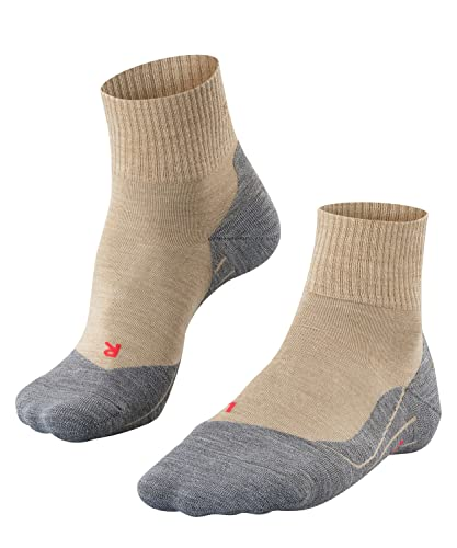 FALKE Men's TK5 Short M SO Hiking Socks, Beige (Nature Melange 4100), UK 9.5-10.5 (EU 44-45 Ι US 10.5-11.5) from FALKE