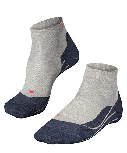Falke Women RU4 Short Running Socks - Light Grey, Size 39 - 40 from FALKE