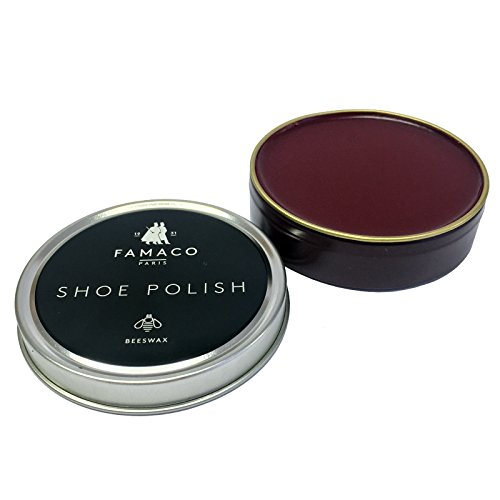 Famaco Unisex-Adult Tin Polish Shoe Treatments & Polishes Oxblood 50.00 ml from Famaco