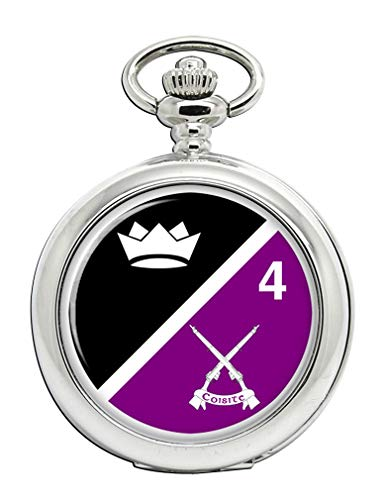 4th Infantry Battalion (Ireland) Full Hunter Pocket Watch from Family Crests.com