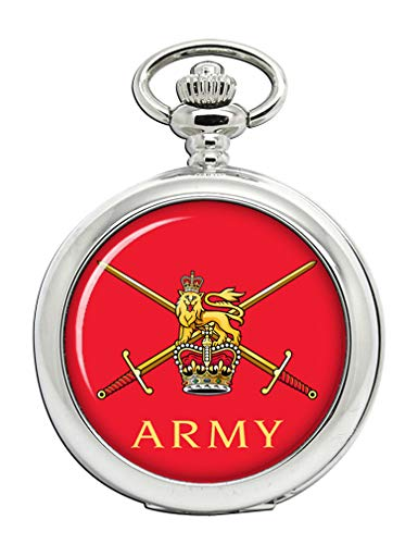 British Army Full Hunter Pocket Watch from Family Crests.com