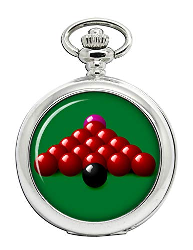 Snooker Full Hunter Pocket Watch from Family Crests.com