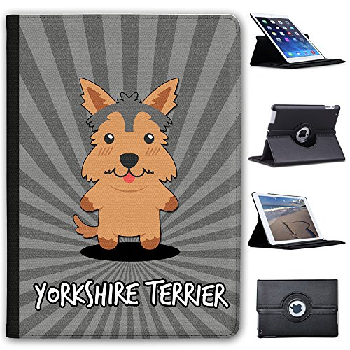 Fancy A Snuggle Yorkshire Terrier, Yorkie Faux Leather Case Cover/Folio for the Apple iPad Air 2 from Fancy A Snuggle