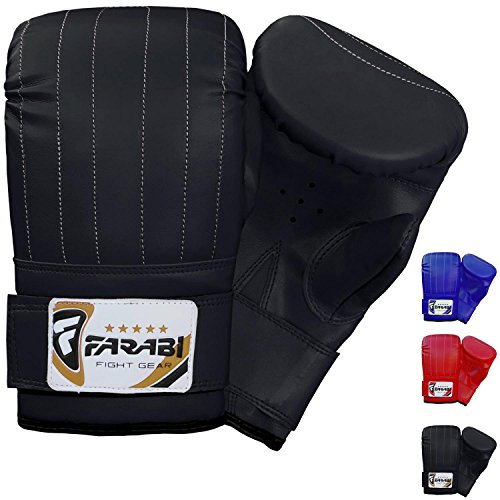 Boxing punch bag mitt gloves punching boxing gloves mma training (X Large) from Farabi Sports