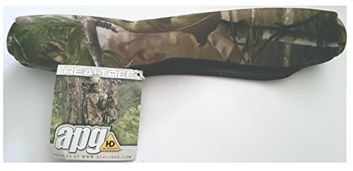 "Realtree camo neoprene quick on/off rifle Scope Cover 31 cm / 12.5"" - protect your scope from dirt and moisture from Farm Cottage Brands"