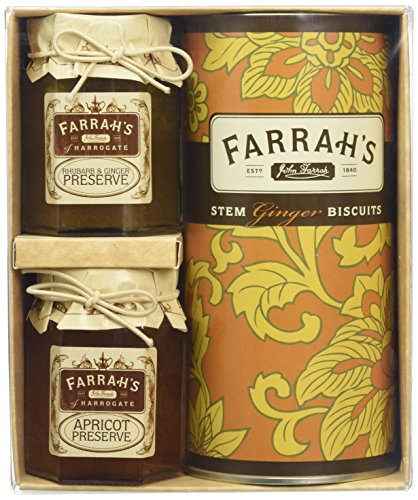 Farrah's of Harrogate Ginger Trio Selection Gift Pack from Farrah's of Harrogate